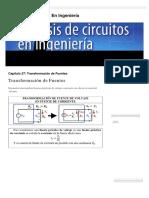 Transformación de Fuentes _ Análisis de Circuitos en Ingeniería