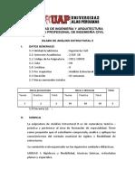 silabo analisis 2