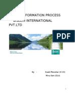 Transformation Process Bisleri