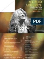 Digital Booklet - Martha Argerich and Friends Live From the Lugano Festival 2012