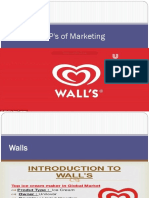 4P's of Marketing Walls Company Final Jameel