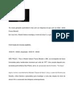 Entrevista Franco Berardi 2019.