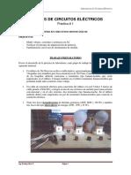 Practica Circuitos II - Conexión Trifasica