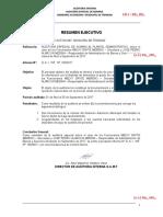 RESUMEN EJECUTIVO DE AUDITORIA FORENSE