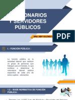 2° FUNCIONARIOS Y SERVIDORES PUBLICOS