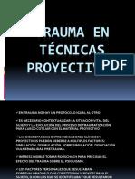 Tecnicas Proyectivas en Trauma