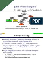 Lecture 18 - Predictive Modelling