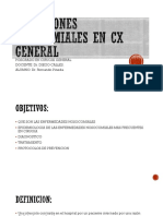 Infecciones Nosocomiales en Cx General