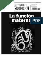 Rev. Actualidad psicológica. Ano XXXVII. Núme. 412. La función materna.pdf