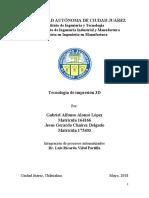 Articulo Tecnologias de Impresion 3D.pdf