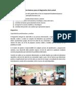 Elementos Básicos Para El Diagnostico de La Salud Andrea