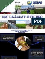 Uso Da Água e o Futuro Slides Muito Bom