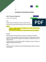 Planificación clases de física 2° MEDIO marzo 2019