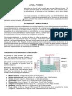 Resumen Clase La Tabla Periodica