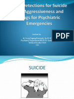 39. Kuliah Blok 4.1 Early Detection Suicide and Aggresiveness Dr Cecep 2012