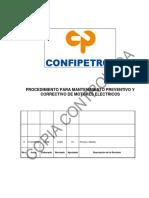 Procedimiento mantto.preventivo y correctivo de motores electricos 2019_ FINAL.docx