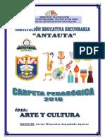 Carpeta Ped. 2019 Antauta Arte