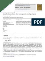 Topologicla Applications