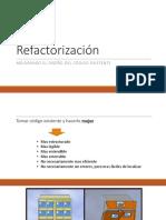 refactorizacion