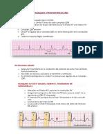 BLOQUEO ATRIOVENTRICULARES