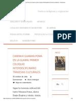 Caminha Guaman Poma en la Guaira_ primer coloquio interdisciplinario travesias culturales – Hawansuyo.pdf