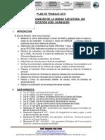 Plan de Trabajo Almacen Ue 305