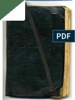 Carnet de Guerre de Jean Marin - 1ere Guerre Mondiale