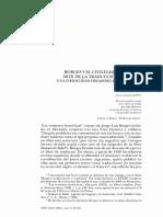 Olea Franco, Rafael, Borges y el civilizado arte de la traducción