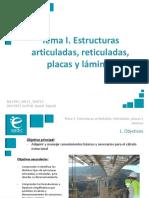 Presentación_M1T1_Estructuras Articuladas, Reticuladas, Placas y Láminas