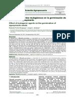 Mutación en Semillas Aguaymanto Con RX Gamma y Azida de Sodio