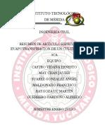 RESUMEN DE ARTICULO ESPECIALIZADO EVAPOTRANSPIRACION DE UN CULTIVO DE SANDIA.docx