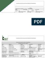 Constancia Induccion y Notificacion de Riesgos sst