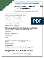Introduction to MS Power BI Desktop - Exercise 02 - Deeper Understanding Power BI ETL - V03