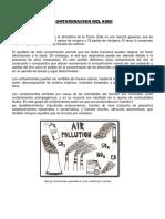 Proyecto de Investigacion Contaminacion Del Aire