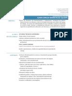 Curriculum Vitae Juan Carlos Bonifacio Quispe 2019