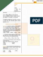Lista de Exercícios Curso Estequiometria