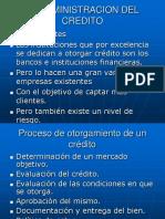 La Administracion Del Credito