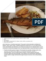 4 Filetes de Pescado Blanco Limpios