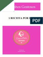 E-book - 30 Receitas de Docinhos Caseiros