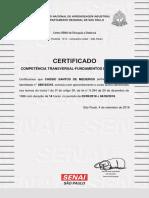 Competência Transversal Fundamentos de Logística-certificado (Clique Aqui Para Salvar o Certificado Do Curso) 159410