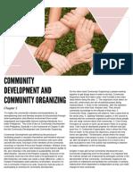 Community Development and Community Organizing