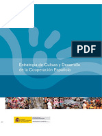 Estrategia de Cultura y Desarrollo