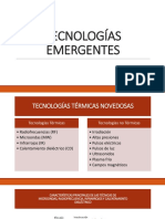 TECNOLOGIAS EMERGENTES