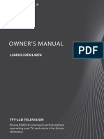 Haier Flat Panel Television L26F6.pdf