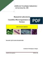 Manual de laboratorio de Cuantifica microorganismos