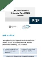 ANC Guideline Presentation