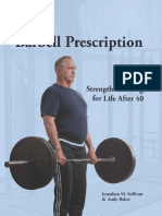 The Barbell Prescription Strength Training for Life After 40