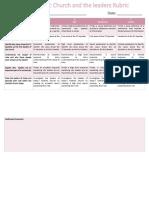 formal assessment week 2 rubric