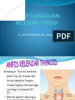 Askep Gangguan Kelenjar Tiroid