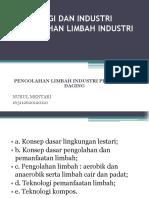 Limbah Industri pengolahan daging